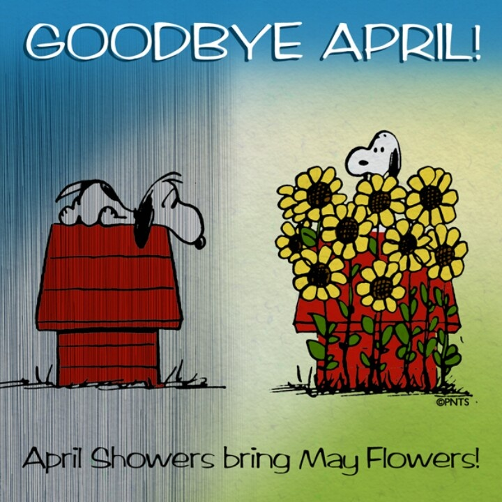 Image result for good night good bye april welcome May