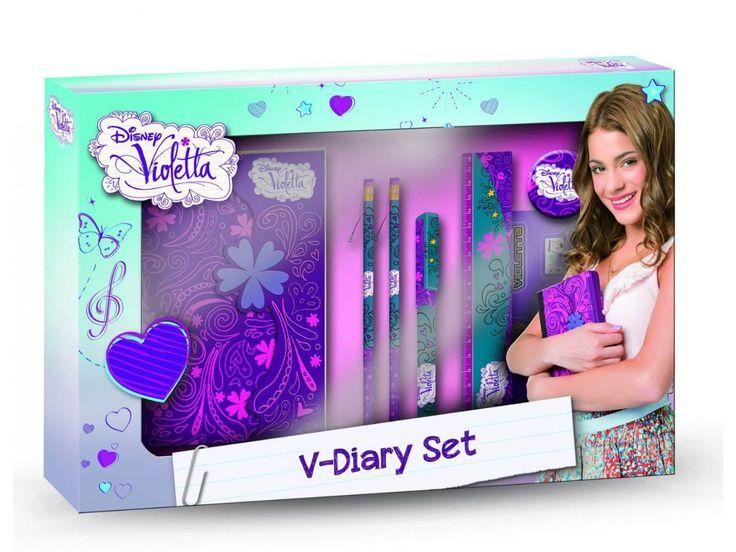 Crée Ton Journal Intime Violetta : crée, journal, intime, violetta, Journal, Intime, Accessoires, Violetta, Giochi, Preziosi
