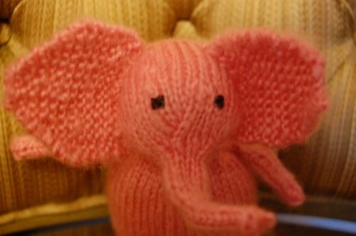 Free Elephant Knitting Pattern : Knitted elephant. Free pattern. 002 Knitting Pinterest