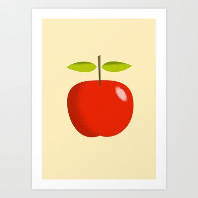 Apple 28 Art Print by Rhett