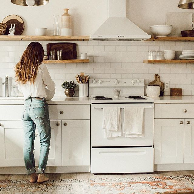 169 best CUISINE images on Pinterest Dream kitchens, Kitchen and - kitchen shelving ideas