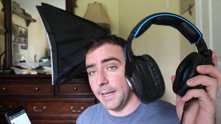 SADES Spirit Wolf USB Headphone with Mic Android Nugget Nexus 5x