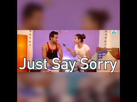 """wdt   """"Just Say SORRY """"   Life After Marriage   EP11   A Web Series By W..."""