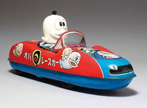 マスダヤ オバQレースカー (ブリキ) #TinToy #おもちゃ #昭和