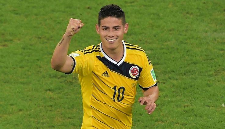 Copa América 2015: conoce el precio de estas 12 estrellas - James Rodríguez (Colombia): $74MM