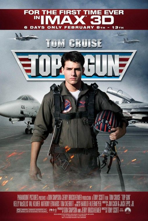 TOP GUN: In IMAX 3D -- in limited theatres 2.8.13! Check cinemark.com for local showtimes.