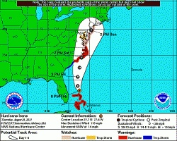 """You should know what the hurricane cone, or """"Cone of Uncertainty,"""" as the National Hurricane Center sometimes calls it, means if you live where..."""