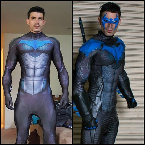 Dynamite Webber is Back again with an utterly awesome cosplay of Nightwing. Check him out on Facebook https://www.facebook.com/dynamitewebbercos and Instagram www.instagram.com/dynamitewebber/