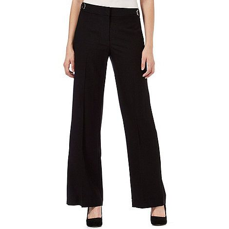 Principles by Ben de Lisi Black wide leg trousers | Debenhams