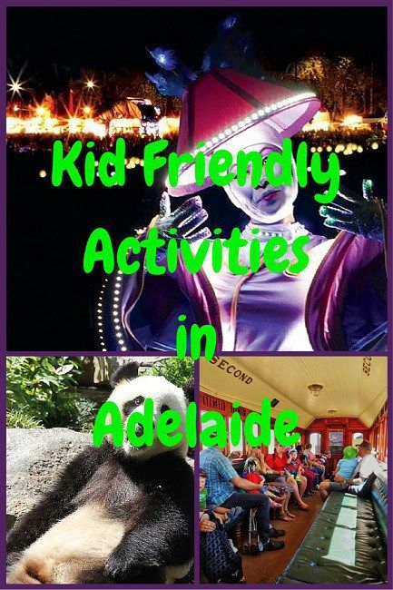 Family friendly activities in Adelaide with kids and without.