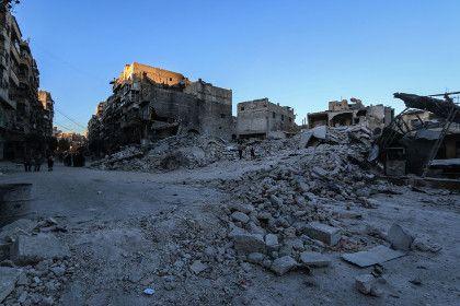 В пригороде Алеппо уничтожен командный пункт террористов - Lenta.ru