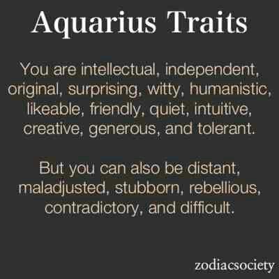 Aquarius personality profile