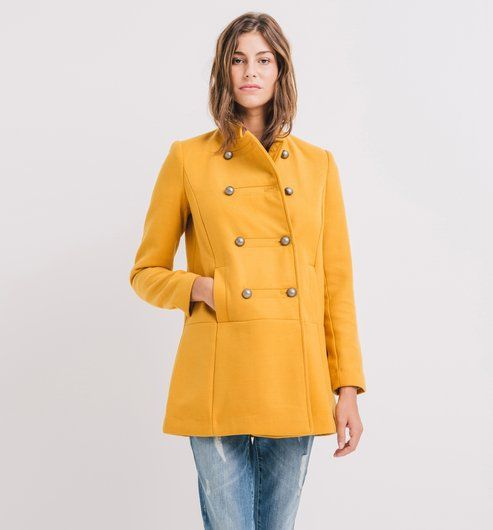 Prix manteau femme jaune