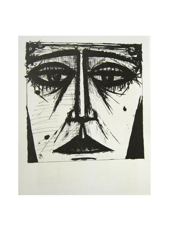 Bernard Buffet Midcentury Lithographic Print by lakesidecottage, $69.00