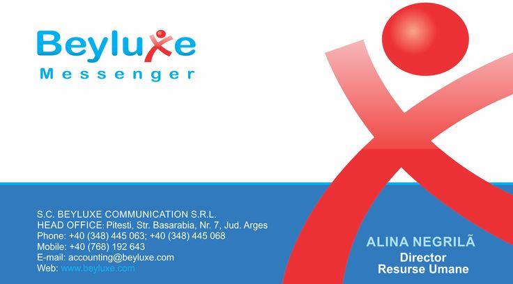 Carti de vizita - Beyluxe - CoMas Advertising