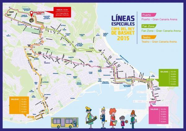 Página web de la empresa municipal de transporte de Las Palmas de Gran Canaria. Información sobre los servicios de Guaguas Municipales: líneas, horarios, tarifas, puntos de venta y mapas. El equipo humano de la Empresa Municipal de Transporte está formado por 638 trabajadores que realizan diariamente una importante labor en el desarrollo de transporte urbano público.