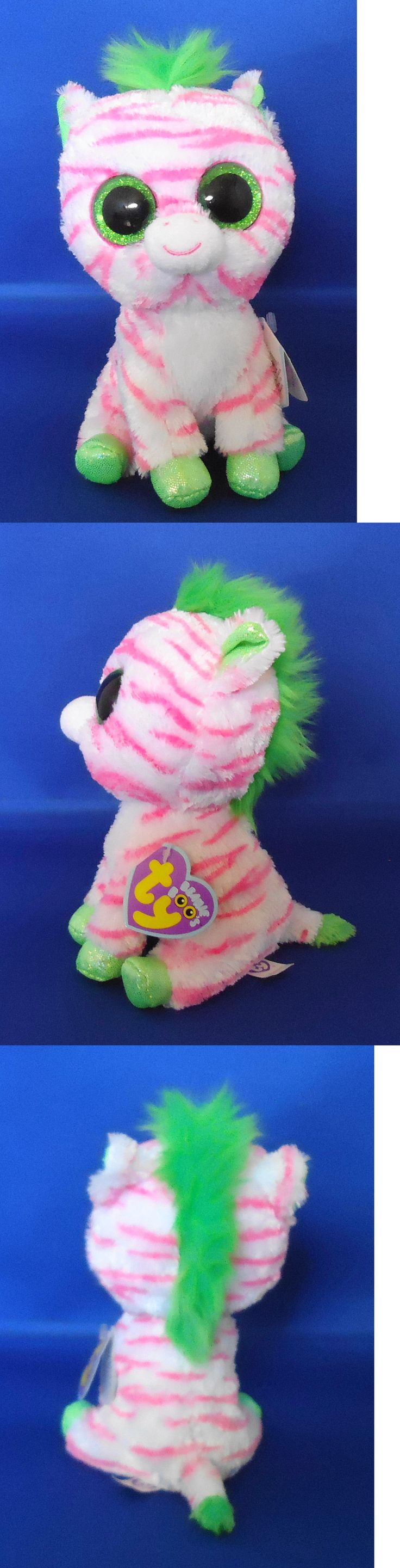 Current 438: Ty Beanie Boos Sapphire The Zebra Justice Exclusive New -> BUY IT NOW ONLY: $123.4 on eBay!