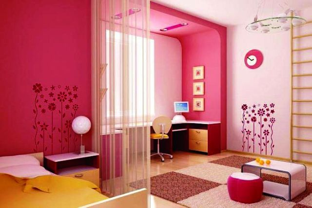 Girl Bedroom Colors Magnificent Decorating Inspiration