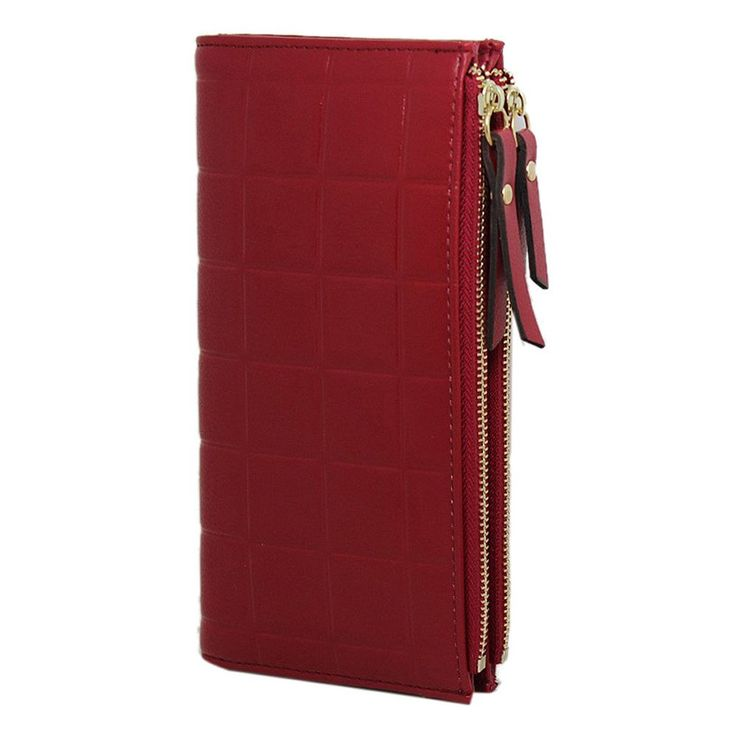 Candy Colour Wallet in Leather