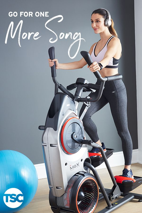 Go For One More Song Stay Motivated And Active With The Latest Fitness Equipment And Gear From Tsc Whether It S The Bowflex Max Trainer Beats By Dr Dre Hea