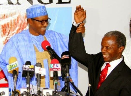 APC unveils RCCG pastor, Osibanjo as Buhari's running mate.
