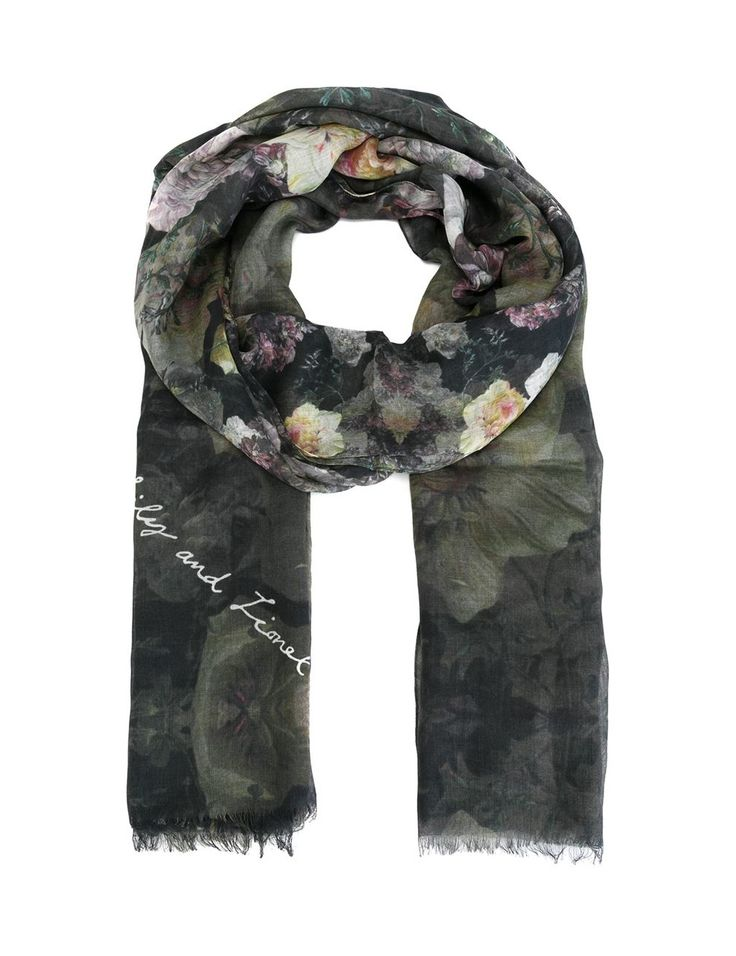 Lily and Lionel Floral Scarf
