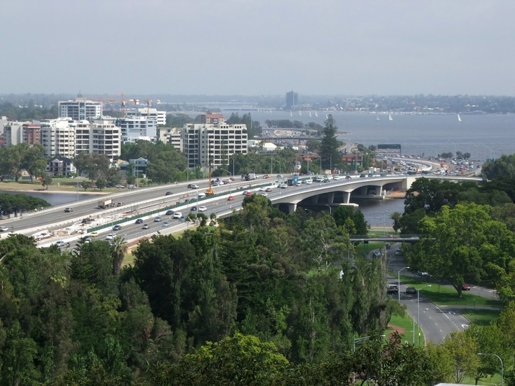 Narrows Bridge, Perth, Australia.