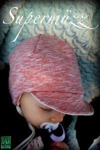 Supermüzz - Freebook: Kindermütze für warme Ohren nähen