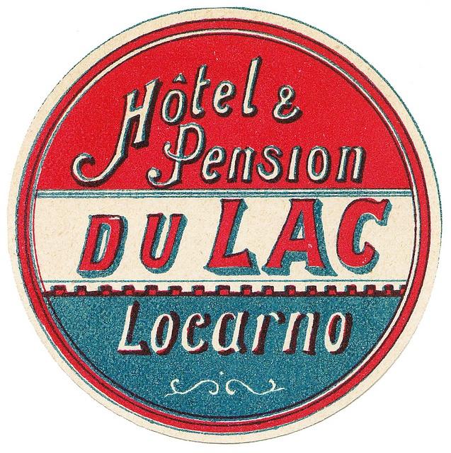 Svizzera - Locarno - Hotel du Lac