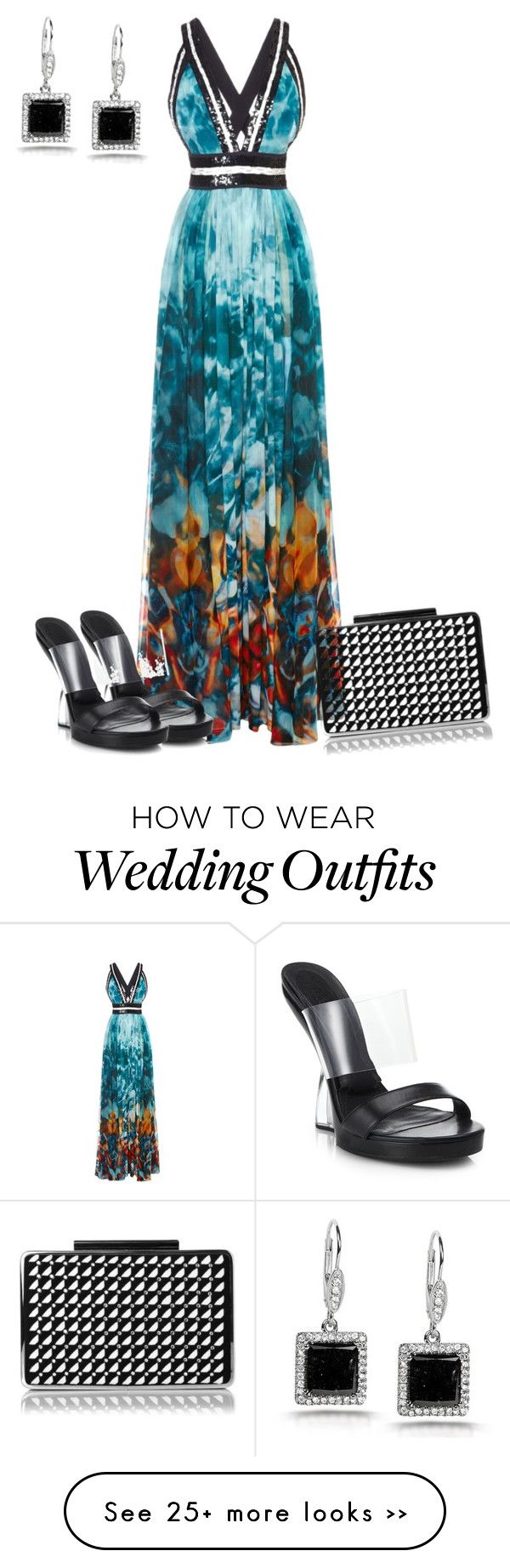 """""""Wedding Guest"""" by lchar on Polyvore"""