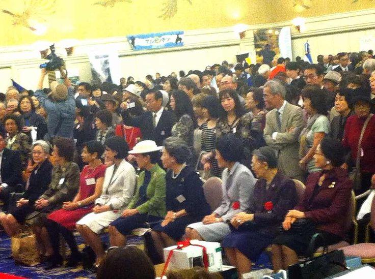 La Princesa Hitachi, esposa del hermano del Emperador Akihito, asistió al Festival de Latinoamérica y el Caribe.  Este evento se celebra una vez al año; ese día asisten alrededor de 3000 personas desde las 11:00 a.m. hasta las 3:00 p.m. Participan todas las embajadas en Tokio de Latinoamérica y el Caribe.  Los fondos recogidos se destinan a donaciones para instituciones que lo necesitan