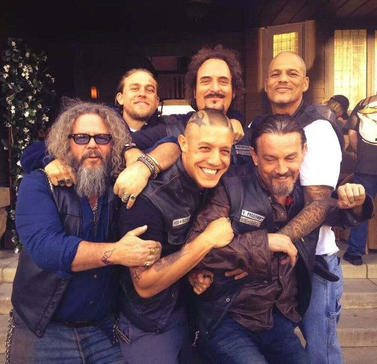 ♥ Sons Of Anarchy ♥ // Jax // Tig // Happy // Bobby // Juice // Chibs