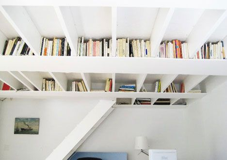 Bookshelves, great use of internal structure