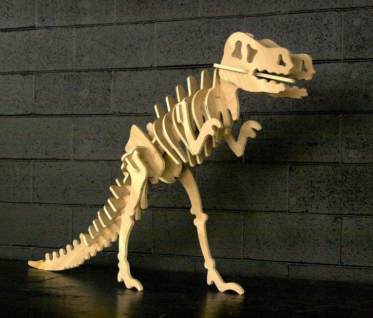 Giant Wood T Rex Dinosaur Puzzle 3 Foot Tall And 5 Feet Long Dinosaur Puzzles Dinosaur Rex