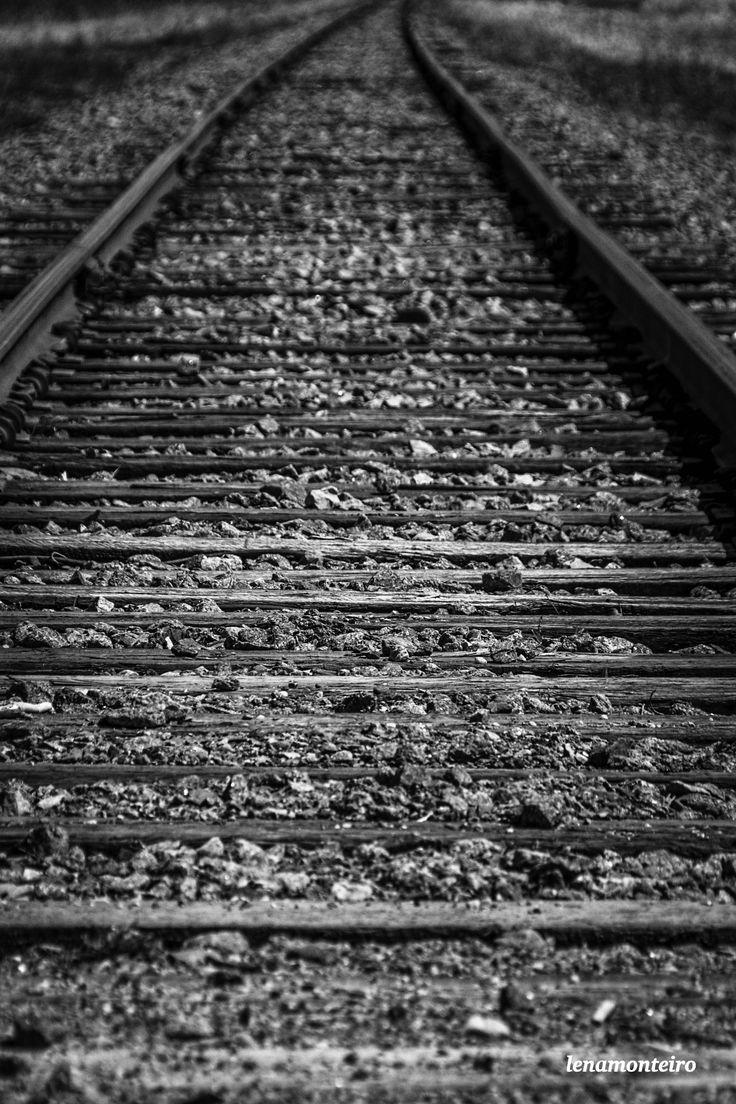 The train tracks... - Plaesance Parc, Quebec, Canada, North America