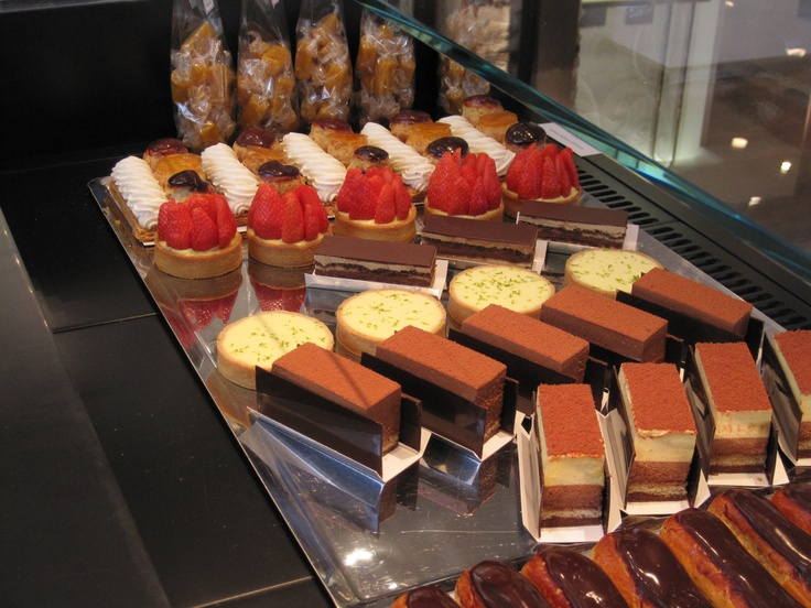 Pastries at Jacques Genin's