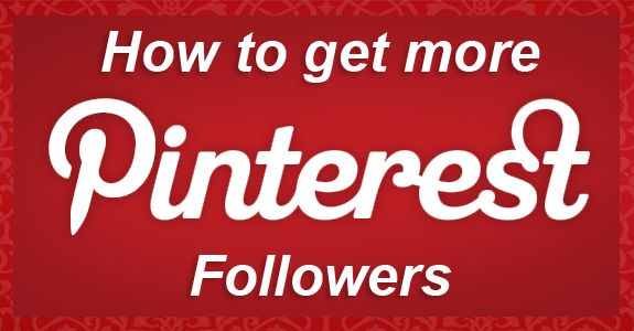 You can always use more! How to get more Pinterest followers. #socialmedia #pinterest