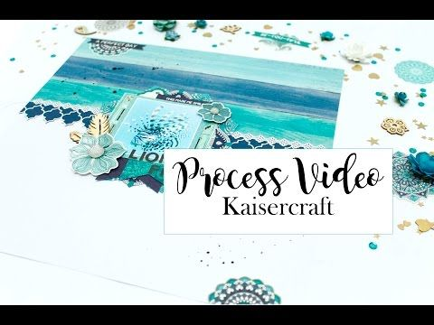 Neat and Crafty: Lion Fish layout and Process Video | Kaisercraft DT