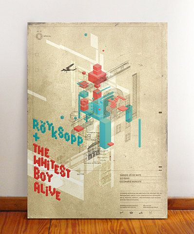 böreal festival posters on the Behance Network
