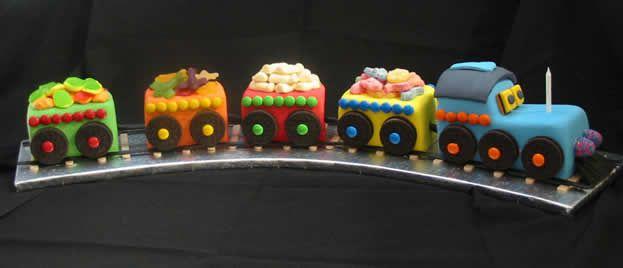 Train Cake Birthday more at Recipins.com