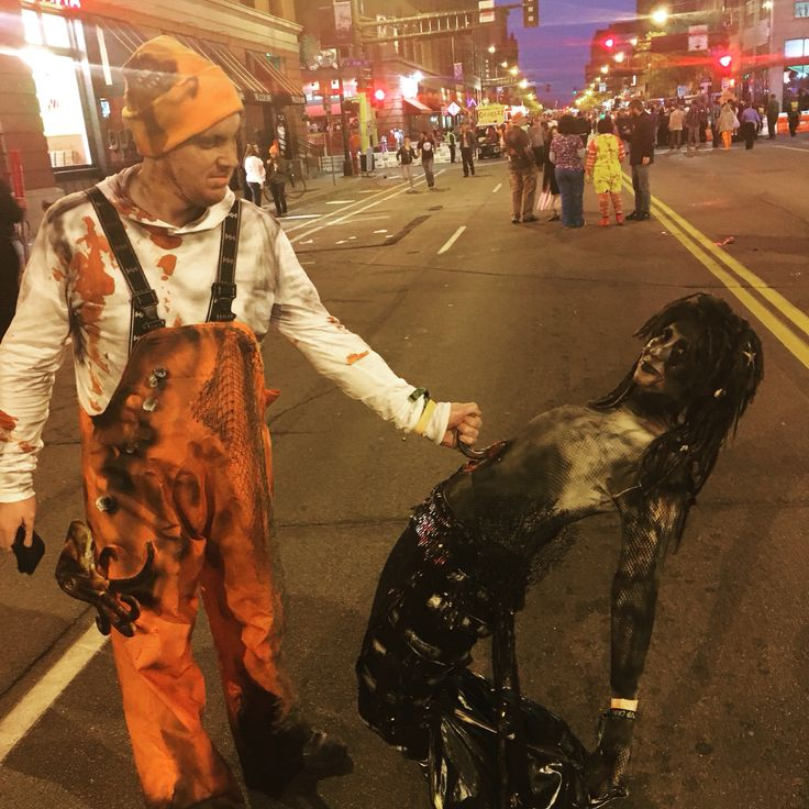 Zombie Mermaid - Zombie Pub Crawl Minneapolis - Fisherman Zombie Costume…