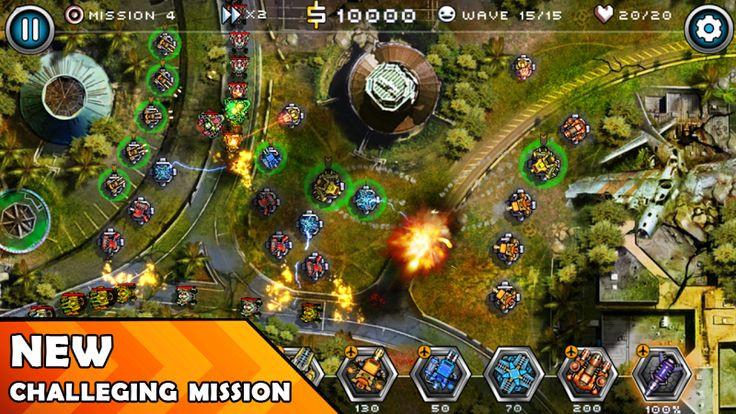 Tower Defense Zone 2 v1.2 [Mod]   Tower Defense Zone 2 v1.2 [Mod]Requirements:Android 4.0.3 and upOverview:Tower Defense Zone 2 is one of extremely attractive Strategy game continuing the success of the Tower Defense series in 2016  Tower Defense version 2 to be continues set by the chaotic world with the invasion of aliens.  When failure at the first time invading since the Tower Defense old version cruel monsters have returned with more thorough preparation on the number and the power in…
