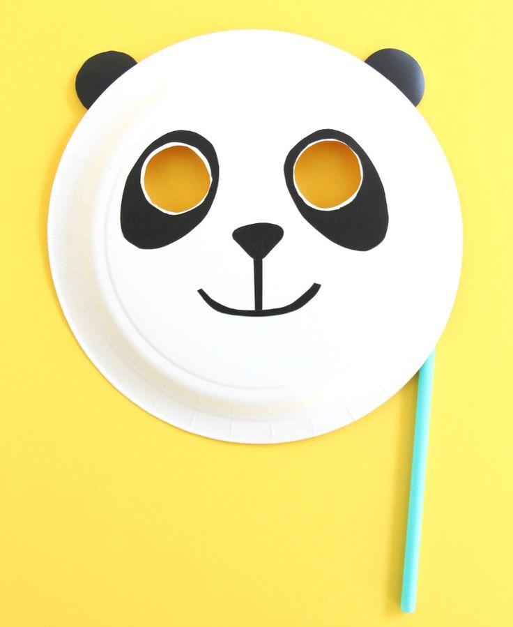 Get Ready for 'Kung Fu Panda 3' with Fun DIY Masks   Fandango