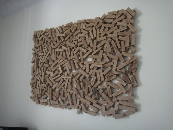 Abstract Wood Sculpture Wall Hanging Art By Dariussayles 36000