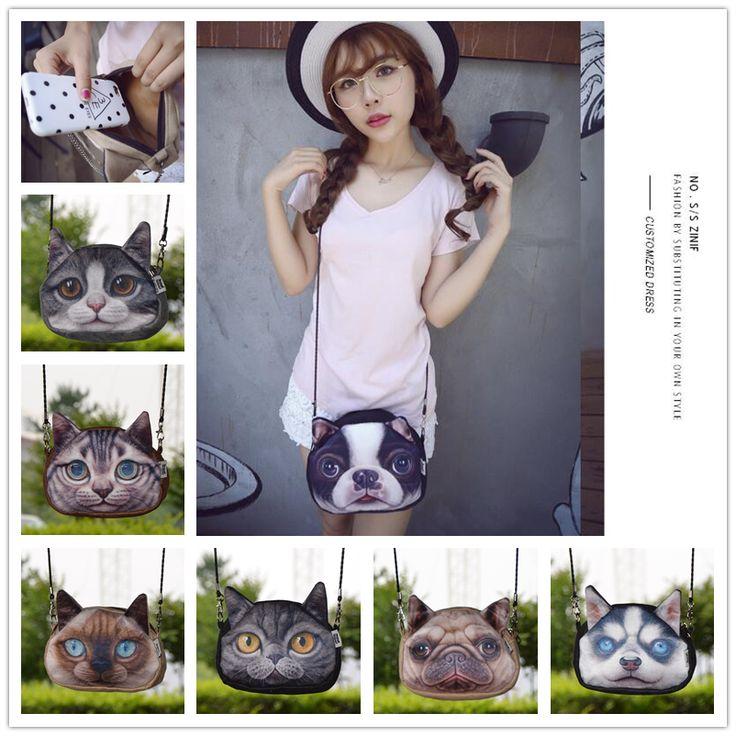 Cheap Bolsos de hombro bolso de cuero de imitación de mensajero precioso para mujer del tamaño grande lindo gato Anime monedero 3D mujeres bolsas de cuero, Compro Calidad Bolsos Crossbody directamente de los surtidores de China: