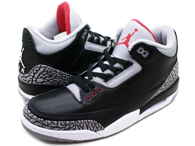 Jordan retro 3 black cement possible 2013 release