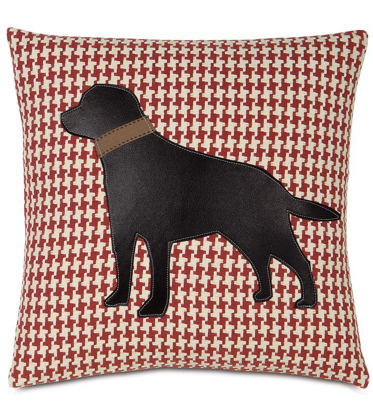 studio 773 pillows designer pillows outdoor pillows accent pillow black lab on bowline