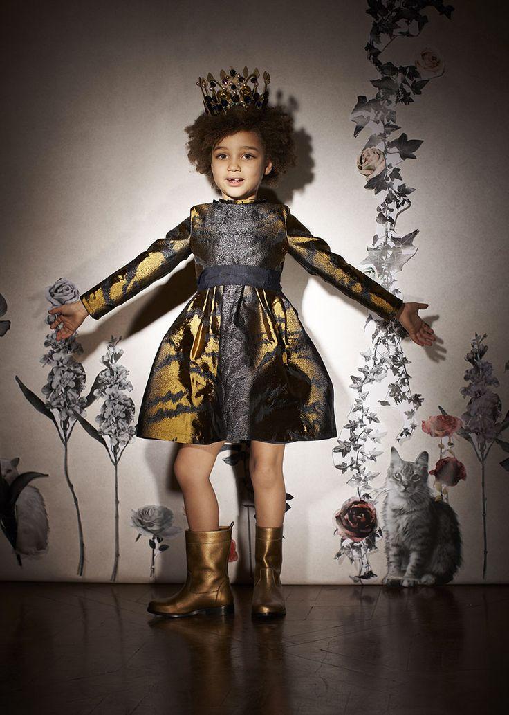 ALALOSHA: VOGUE ENFANTS: Lanvin Petite FW2013 - наряды для маленьких фей!