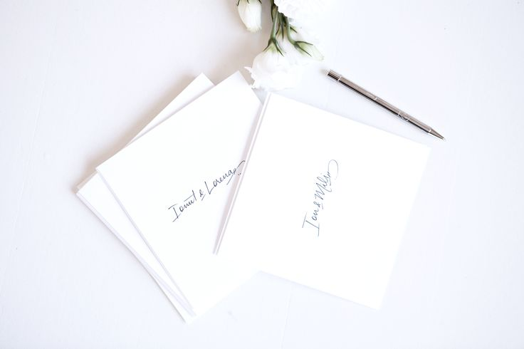 Wedding envelopes with calligraphy styled by @bellelovespaper