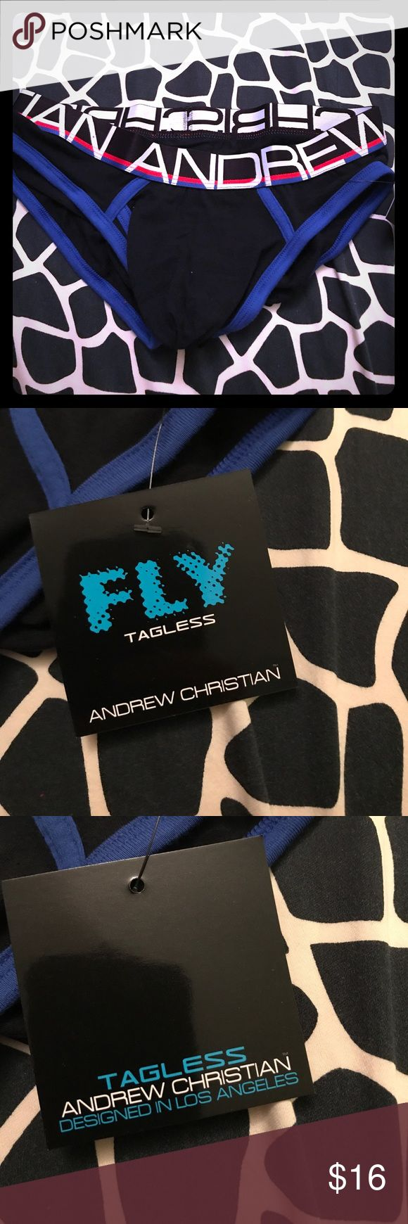 Andrew Christian sexy Fly Tagless ❤️😻❤️ Andrew Christian sexy Fly Tagless ❤️😻❤️ Brand new/Never worn!! Andrew Christian Underwear & Socks Briefs